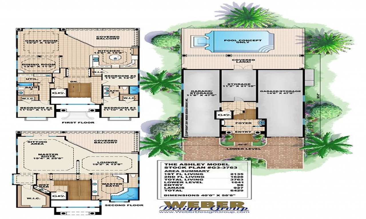 Coastal living ultimate beach house coastal beach house for Coastal living house plans
