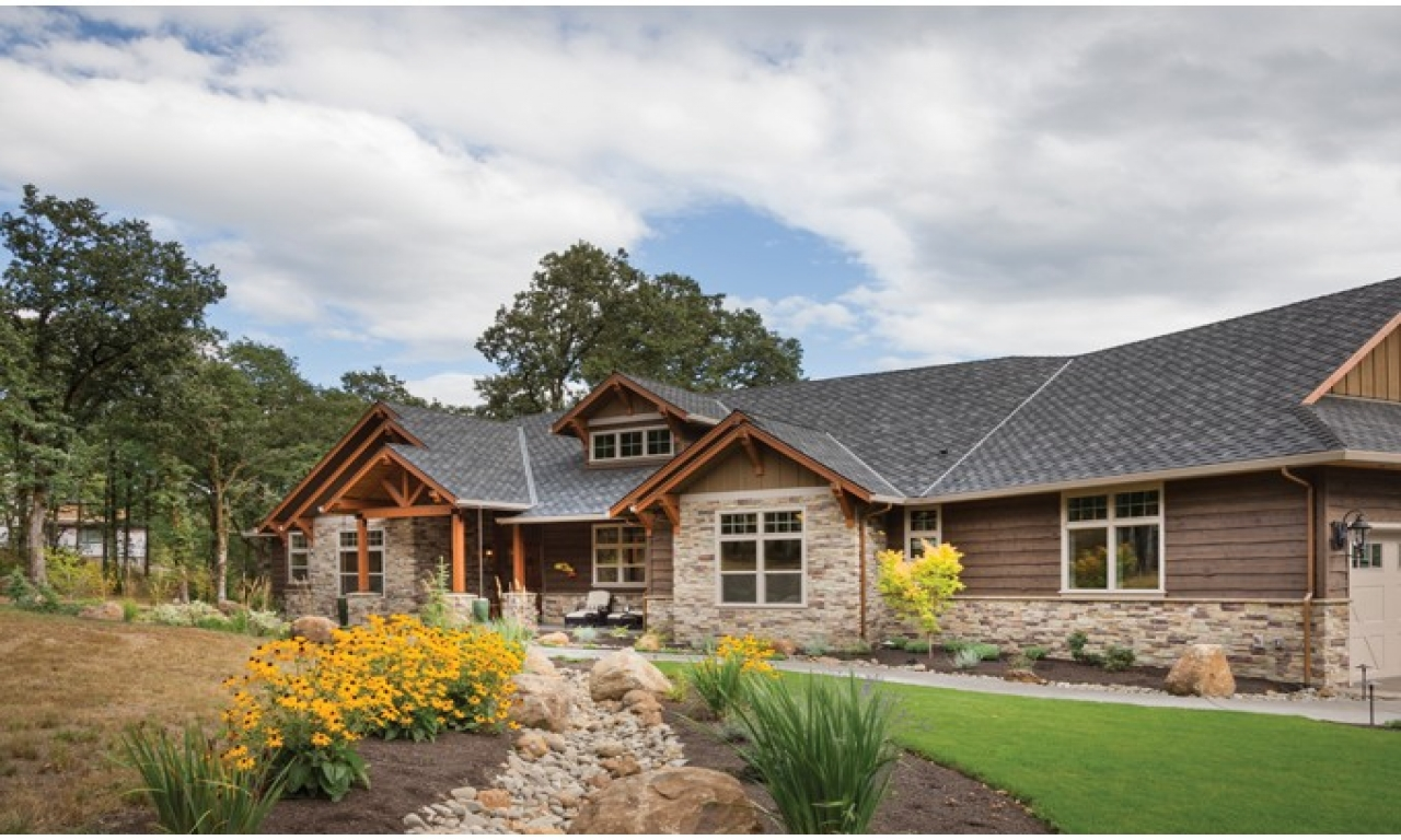 Craftsman ranch house plans small craftsman ranch house for Small ranch home designs