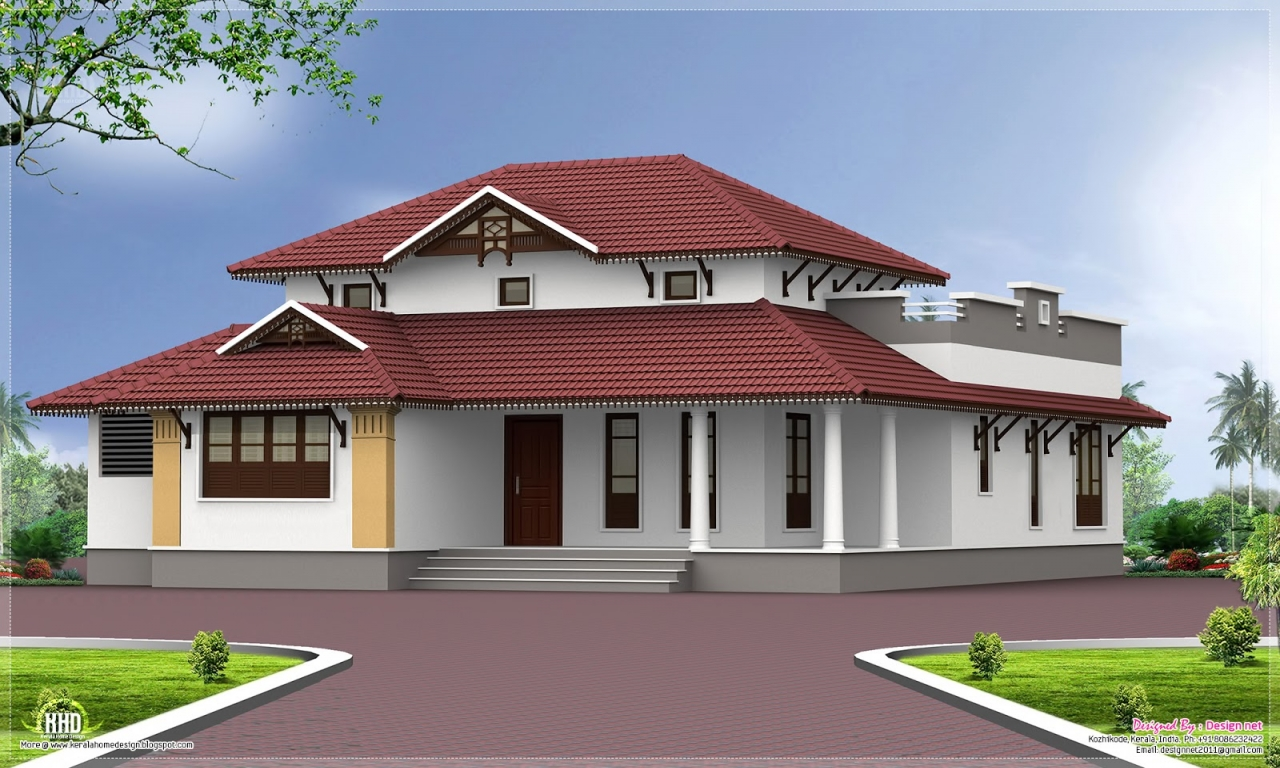 Exterior house styles single story exterior house designs for Two story house exterior design