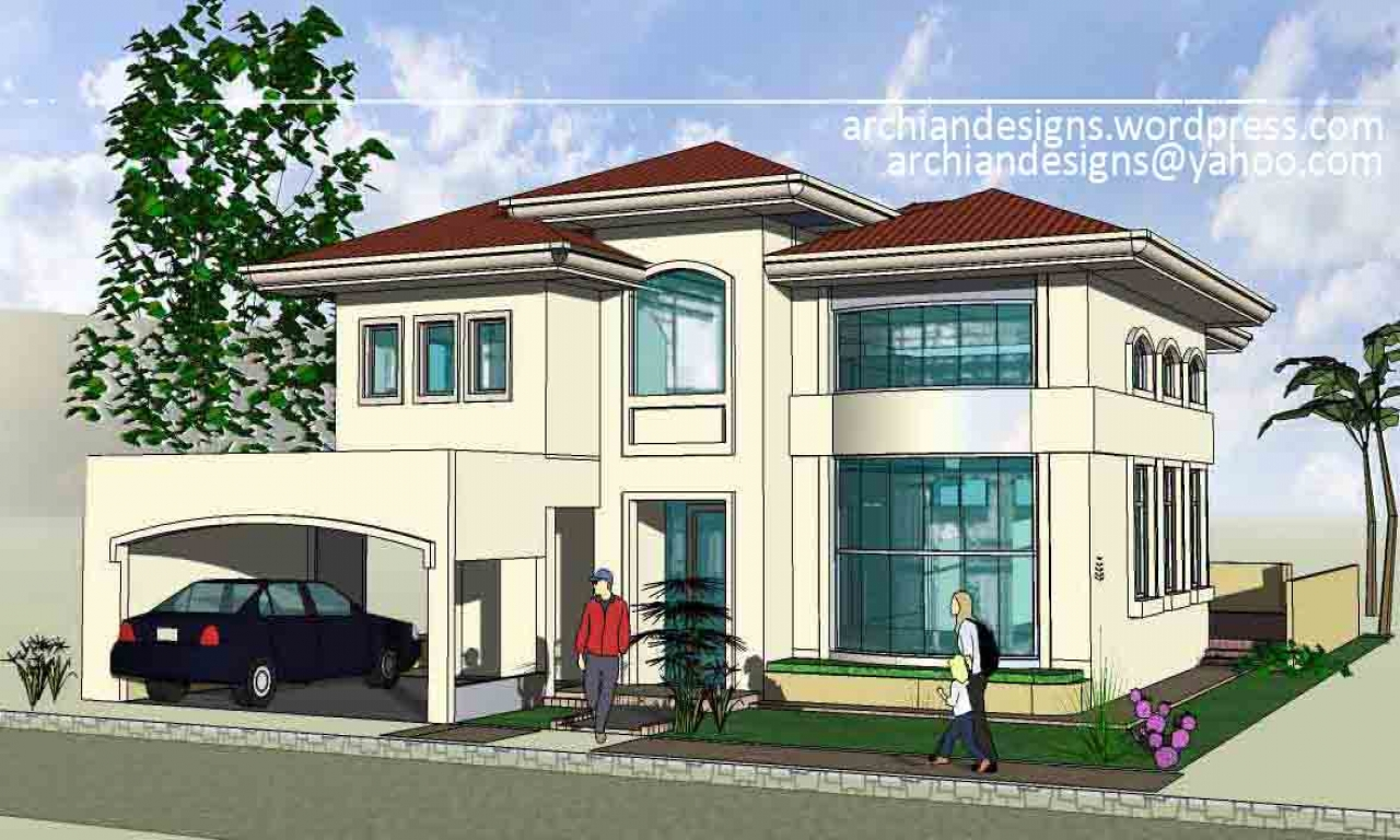 Front house design philippines simple house designs for Front view house plans
