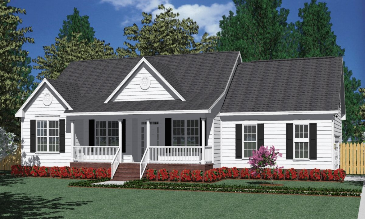 House Plans Wrap Around Porches Side