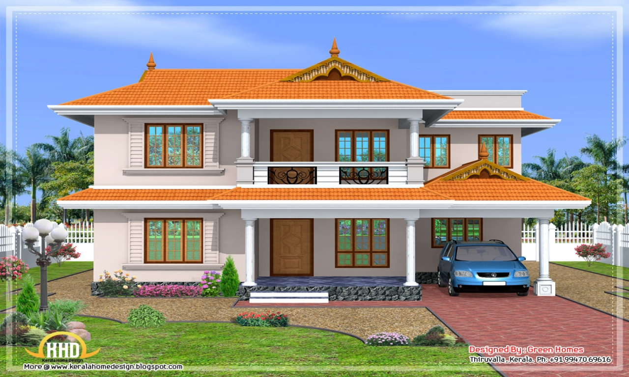 Kerala style house design kerala house plans and for Kerala type house elevations