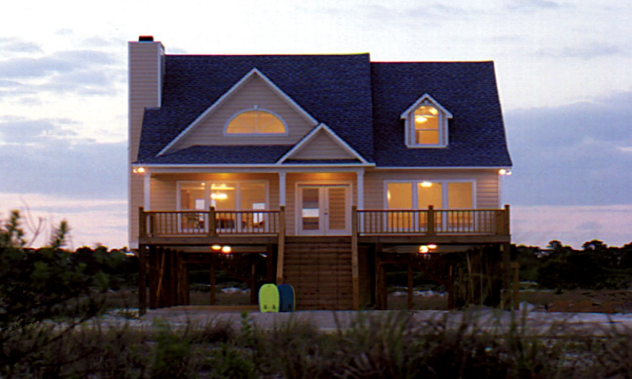 Lake house plans with loft lake house plans with view for Lake house floor plans view