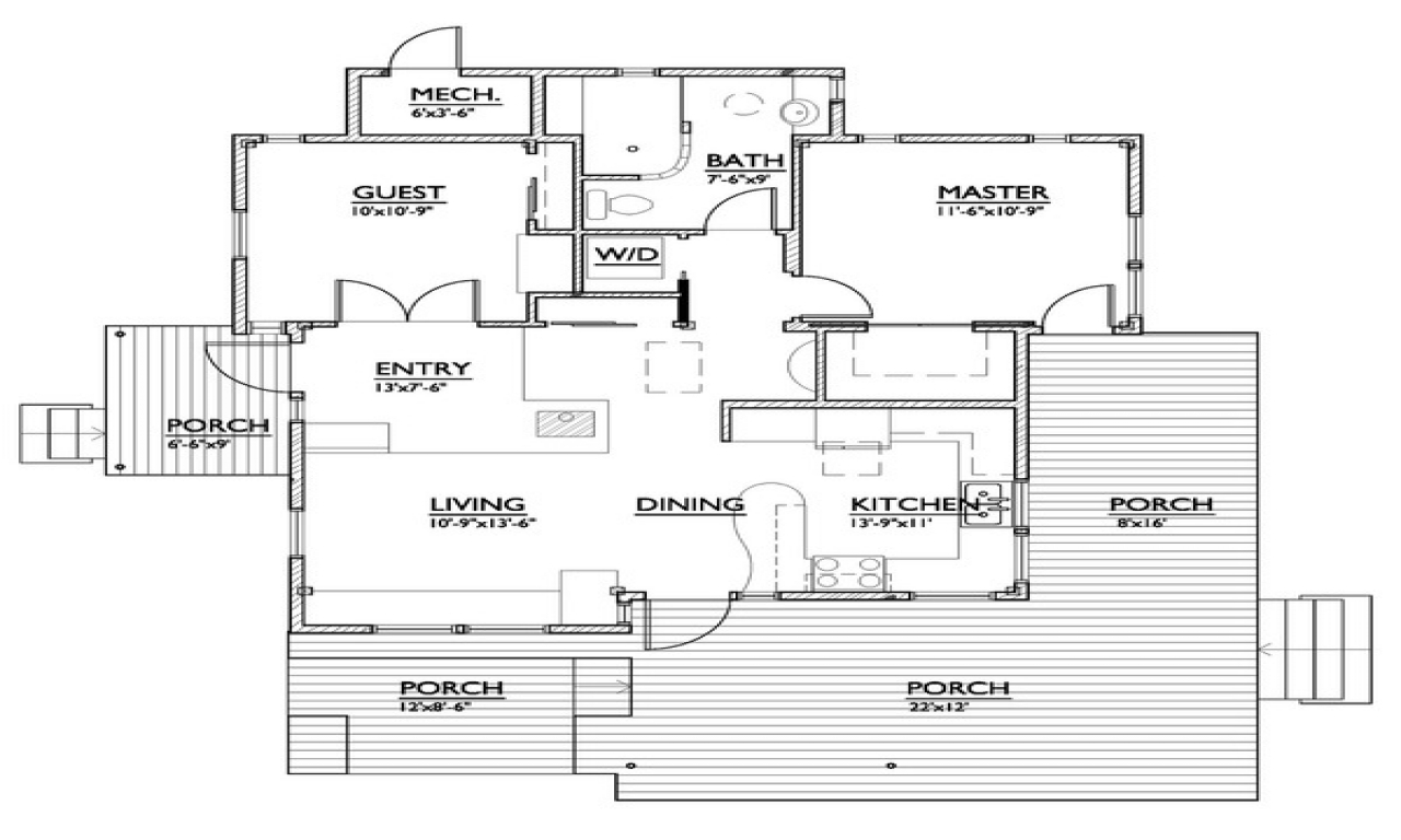 Luxurious small floor plans floor plans for small homes for 800 sq ft floor plan
