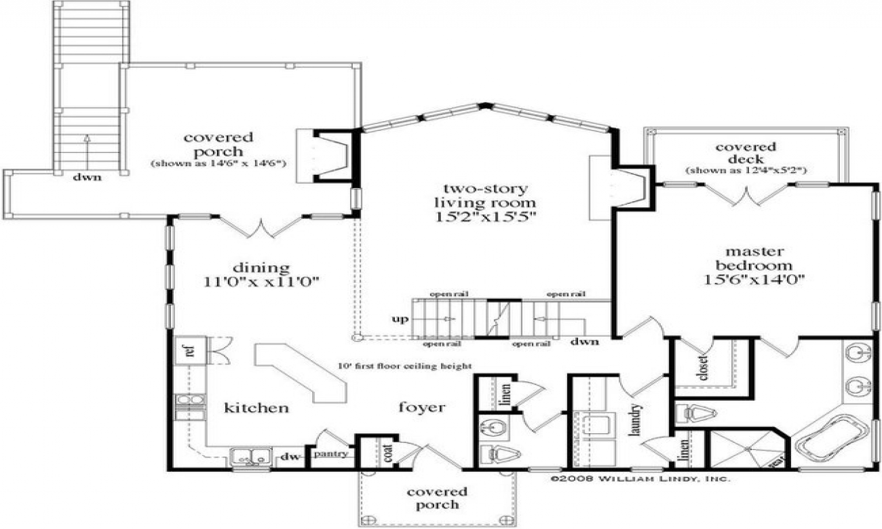 Mountain Cabin House Floor Plans Rustic Mountain Cabin