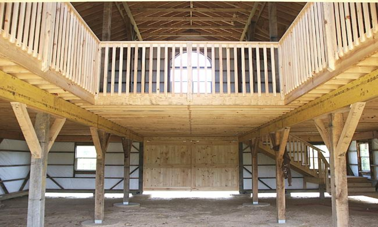 Pole Barn Designs With Loft Pole Barn With Loft Designs