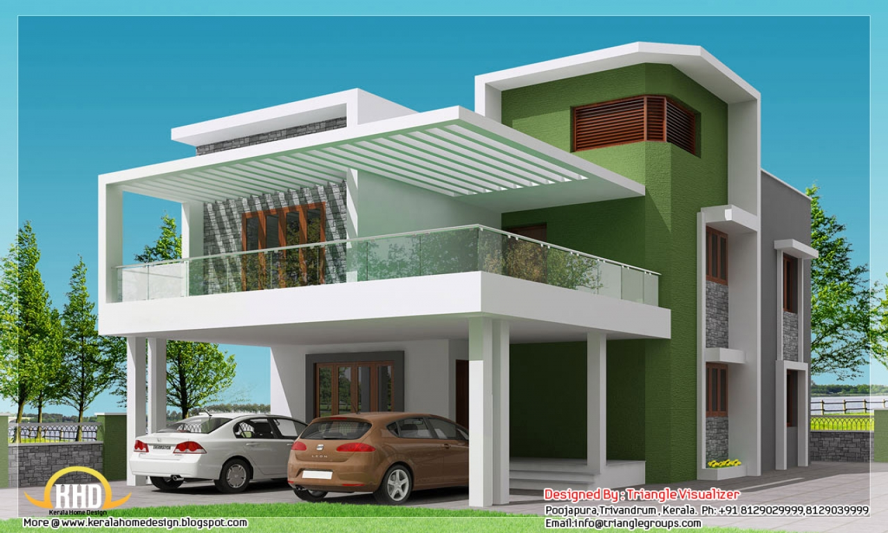 Simple affordable house plans simple modern house plan for Cheap house plans