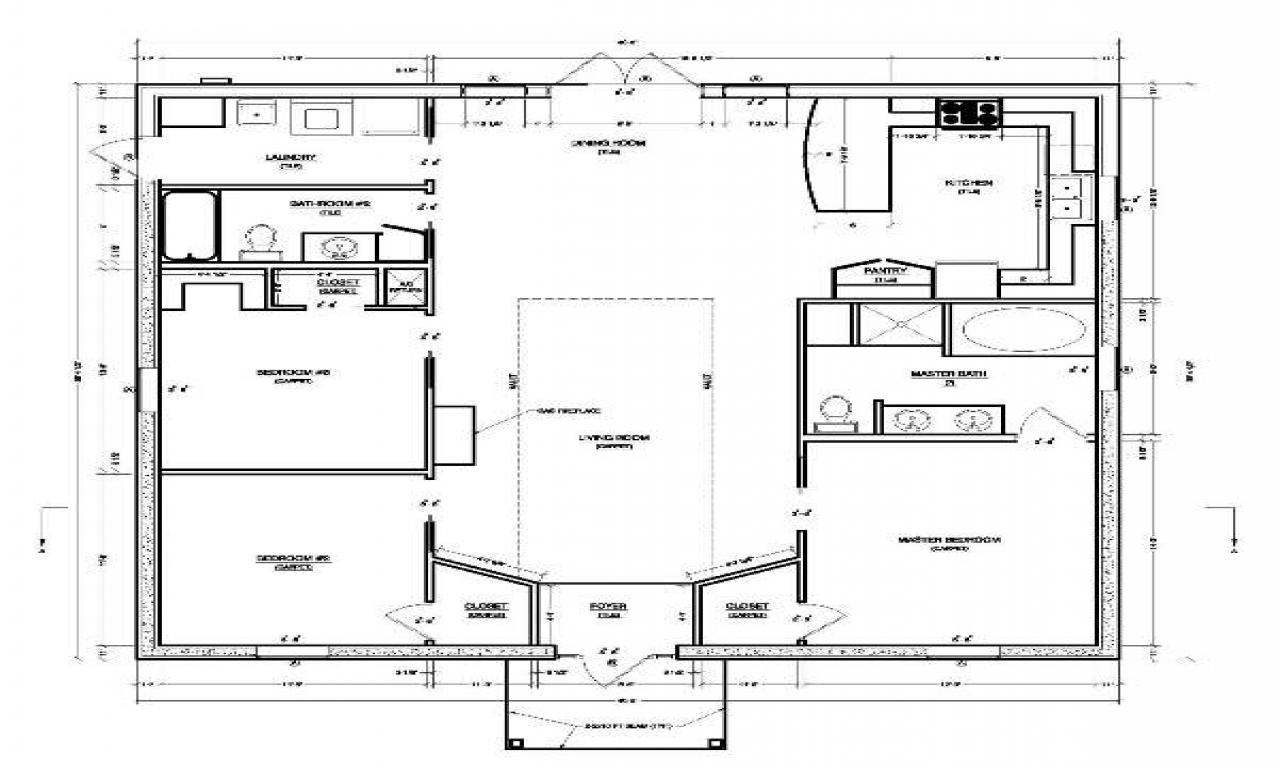 Simple small house plans best small house plans small for Simple floor plan free