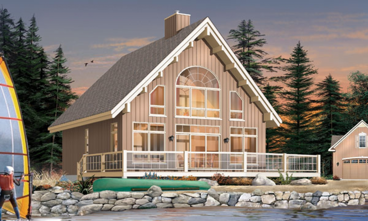 Small lake cottage house plans lake house plans small for Building a small lake