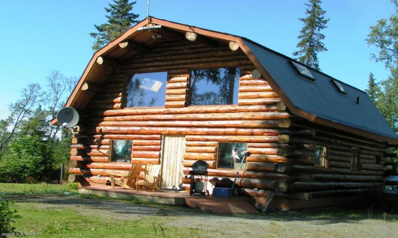 Alaska log cabin homes for sale log cabin kits hawaii for Ranch home kits for sale