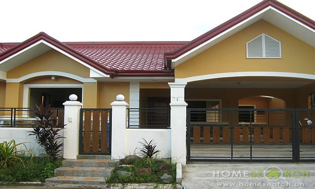 Bungalow style house design philippines prairie style for Different types of house plans