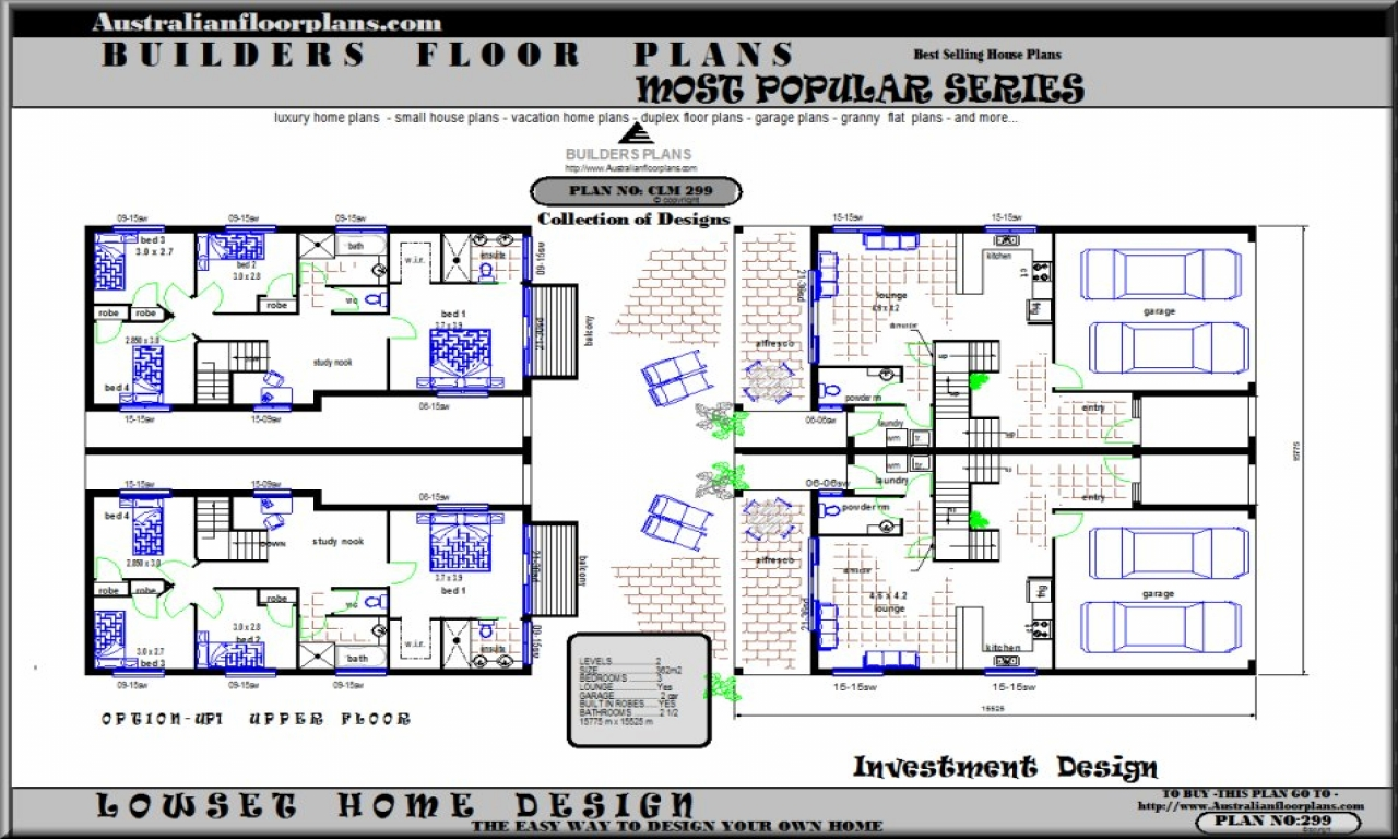 Luxury townhouse floor plans townhouse floor plans and for Luxury townhouse plans