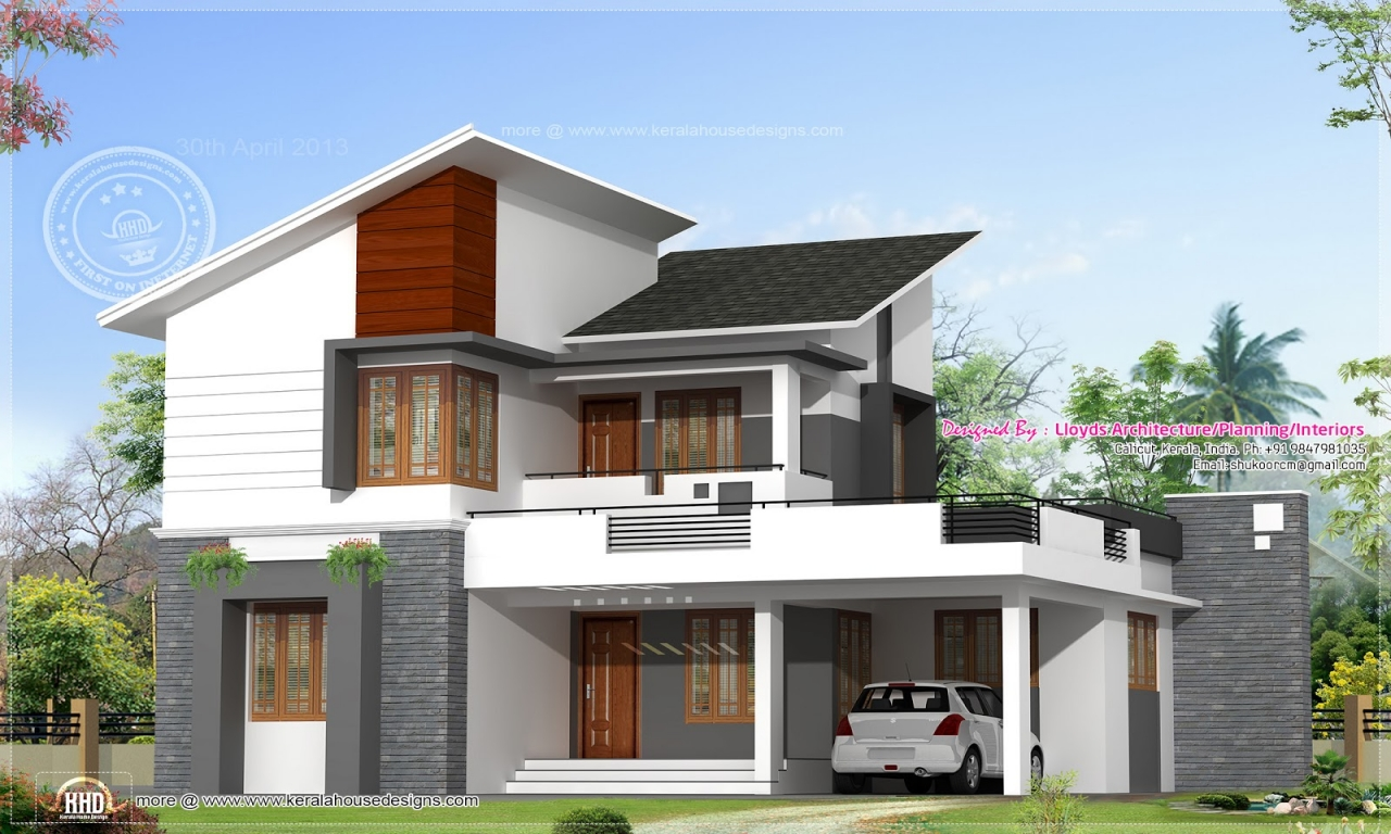 Modern tropical house design modern house designs and for Contemporary house plans free