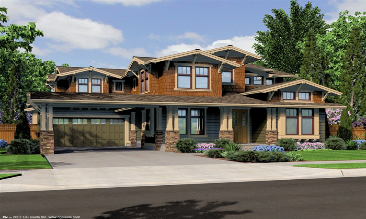 Northwest lodge style house plans pacific northwest house for Nw home design