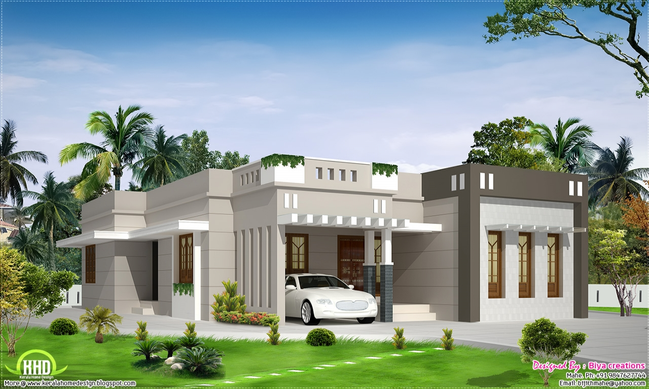 One Story Bungalow Floor Plans 2 Bedroom Single Storey