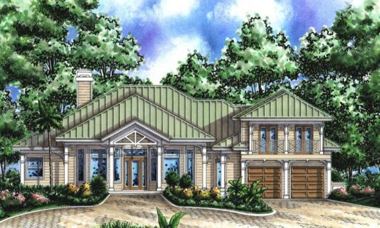 Beach coastal living house plans southern coastal home for Coastal living house plans