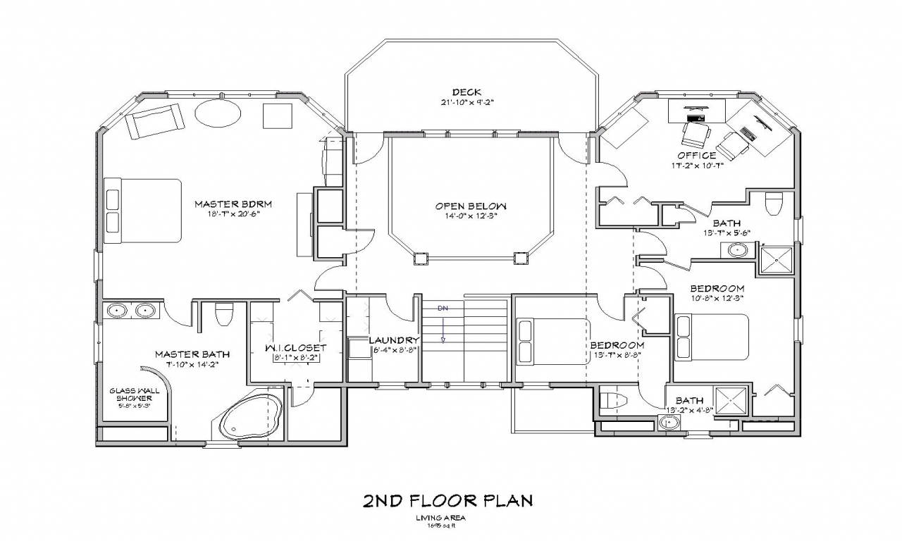 Beach house plans on pilings beach house floor plan beach for Vacation house floor plan