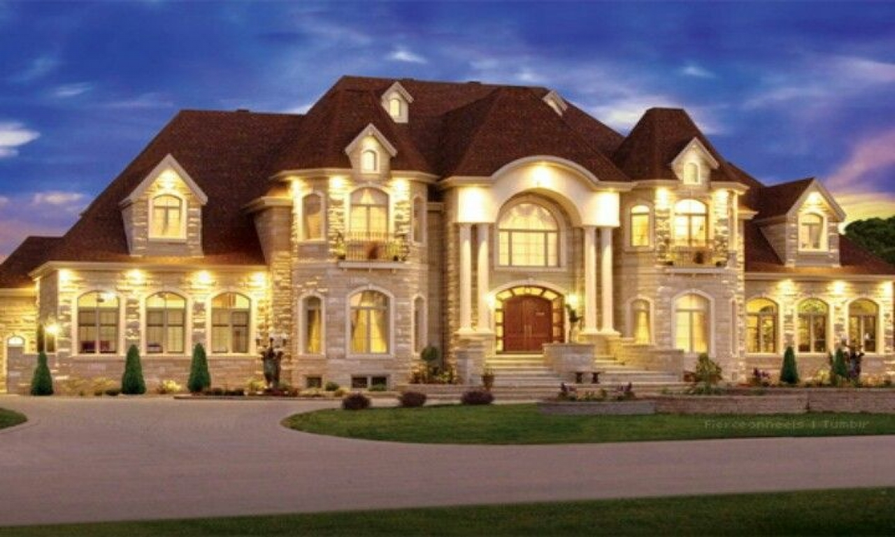 Big Mansion House Big Dreamhouse Mansion Beautiful Dream