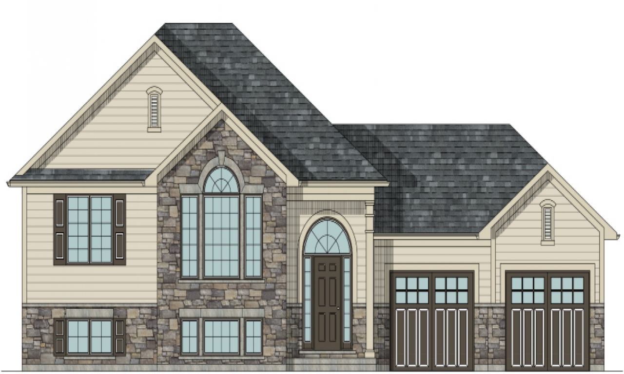 Raised house plans old bungalow style raised bungalow for House plans canada bungalow