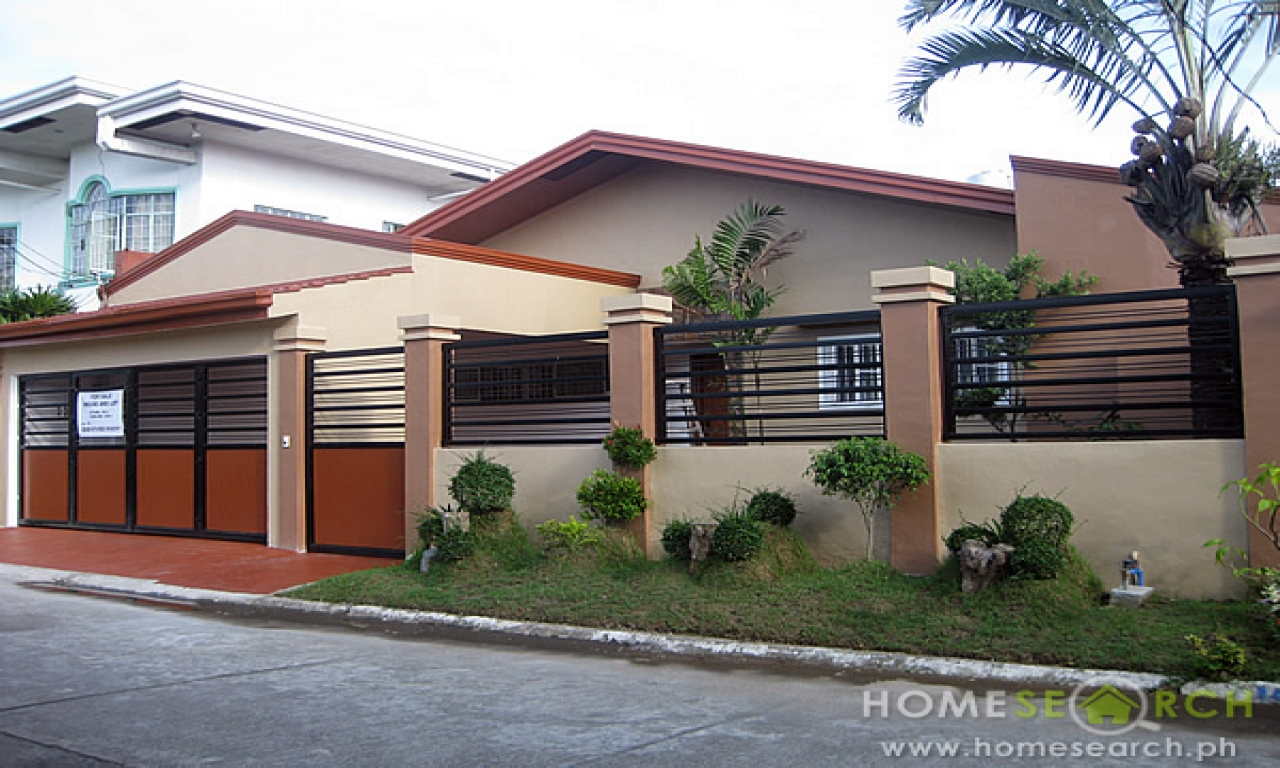 Simple bungalow house design philippines philippine for Design in the house