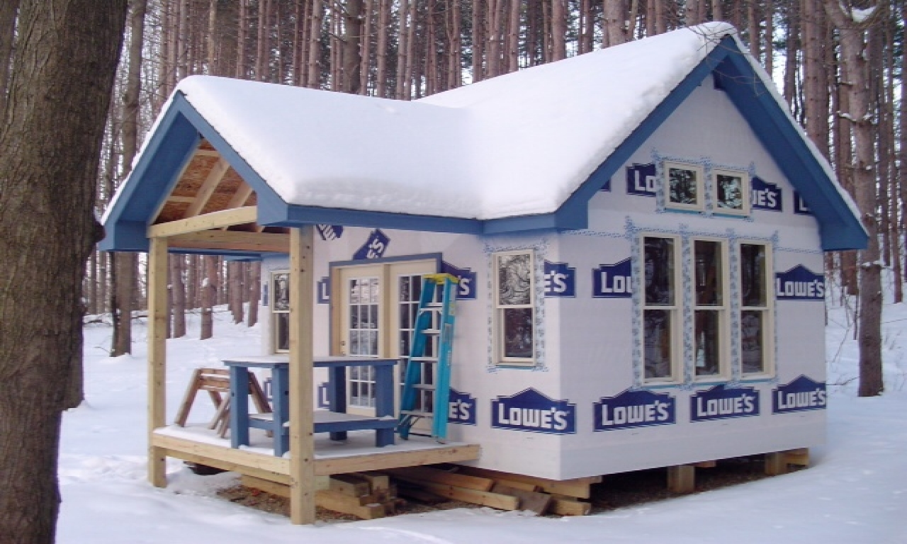 Do It Yourself Home Design: Tiny Victorian House Plans Small Cabins Tiny Houses, Small