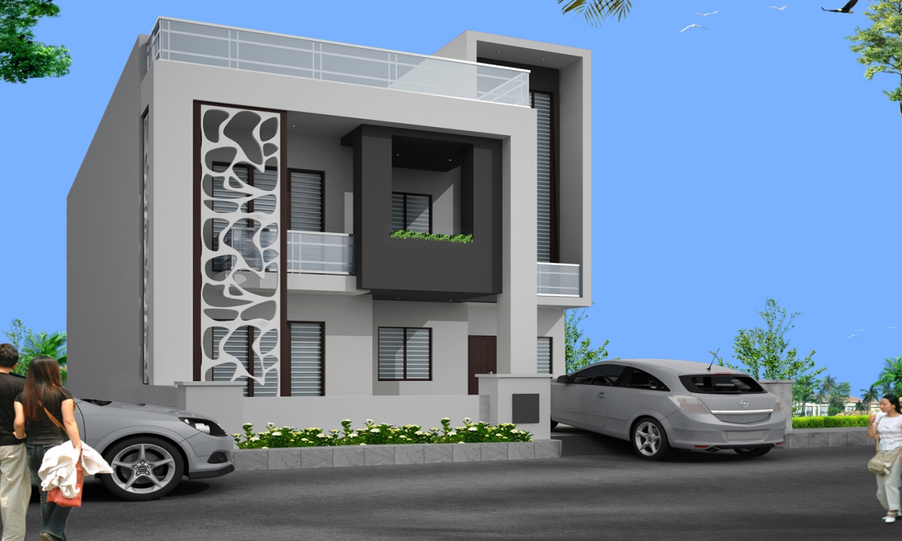 Beautiful house elevations independent house elevations for Independent house elevation photos