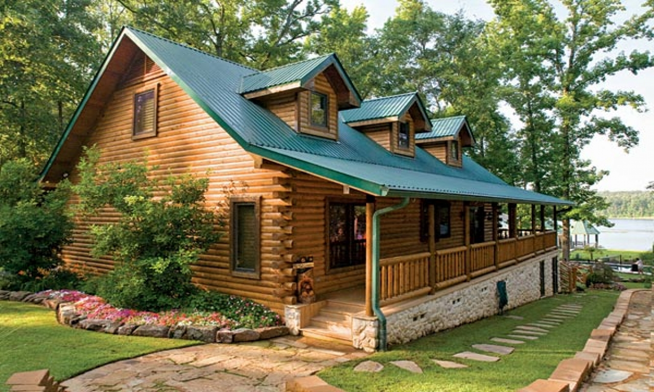 Chalet Log Cabin Kits Log Cabin Home Lakefront Cabin