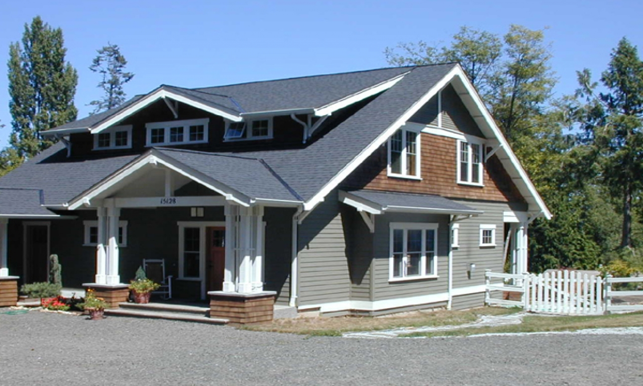 Craftsman style bungalow house plans small house plans for Craftsman cottage home plans