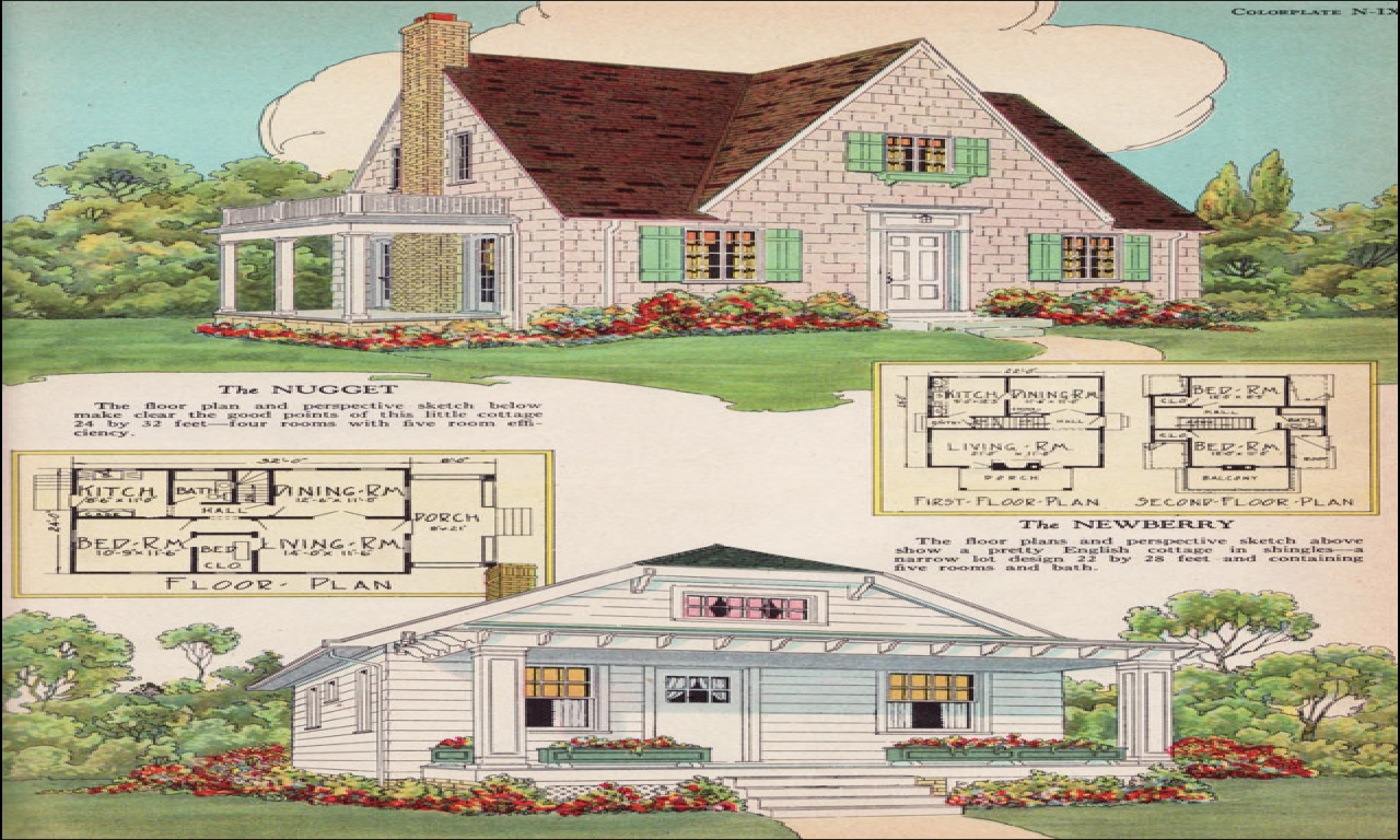 English Cottage Gardens Small English Cottage House Plans