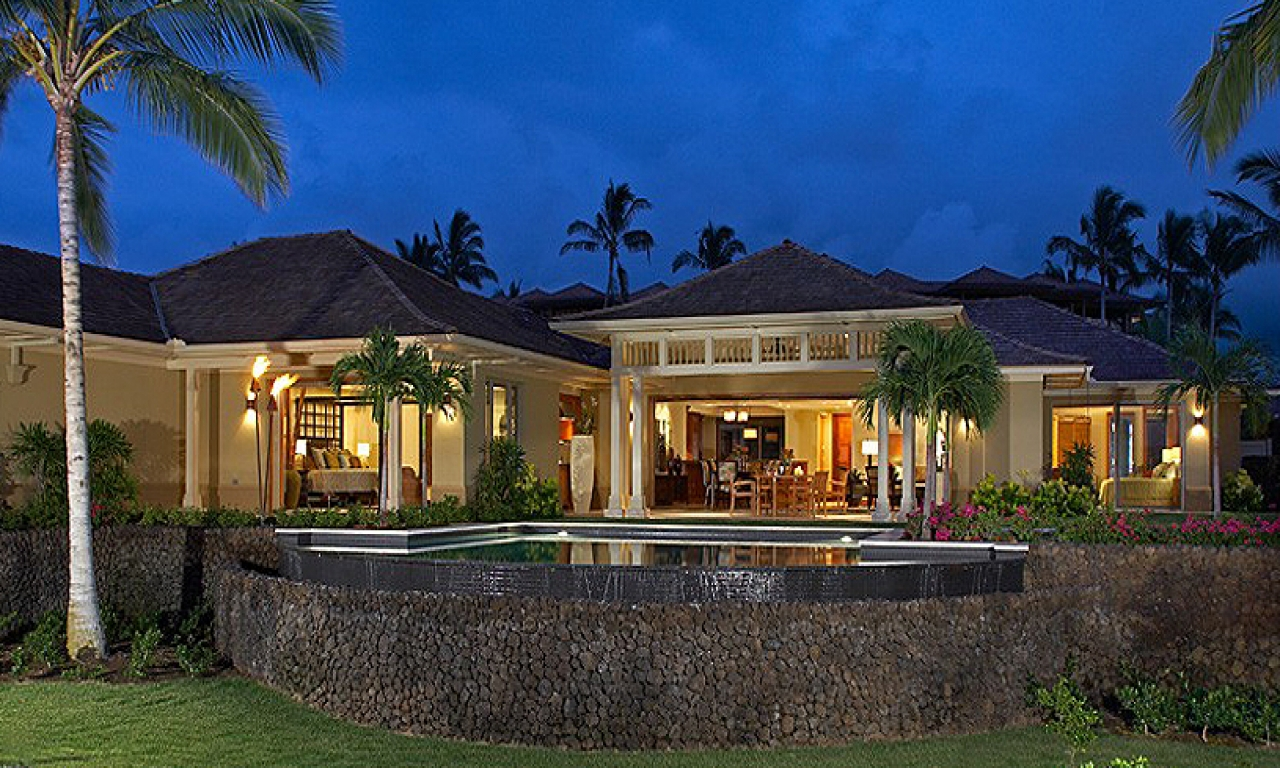 Hawaii home plans and designs hawaii plantation homes for Plantation home builders