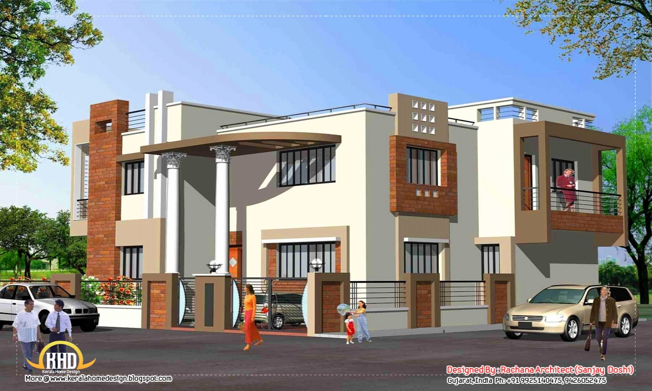 Simple House Elevations : Indian house elevation design simple elevations