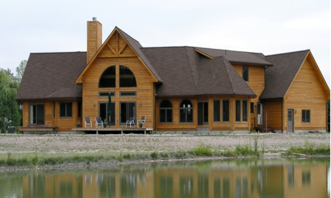 Luxury mountain log homes luxury log home floor plans for Luxury log home floor plans