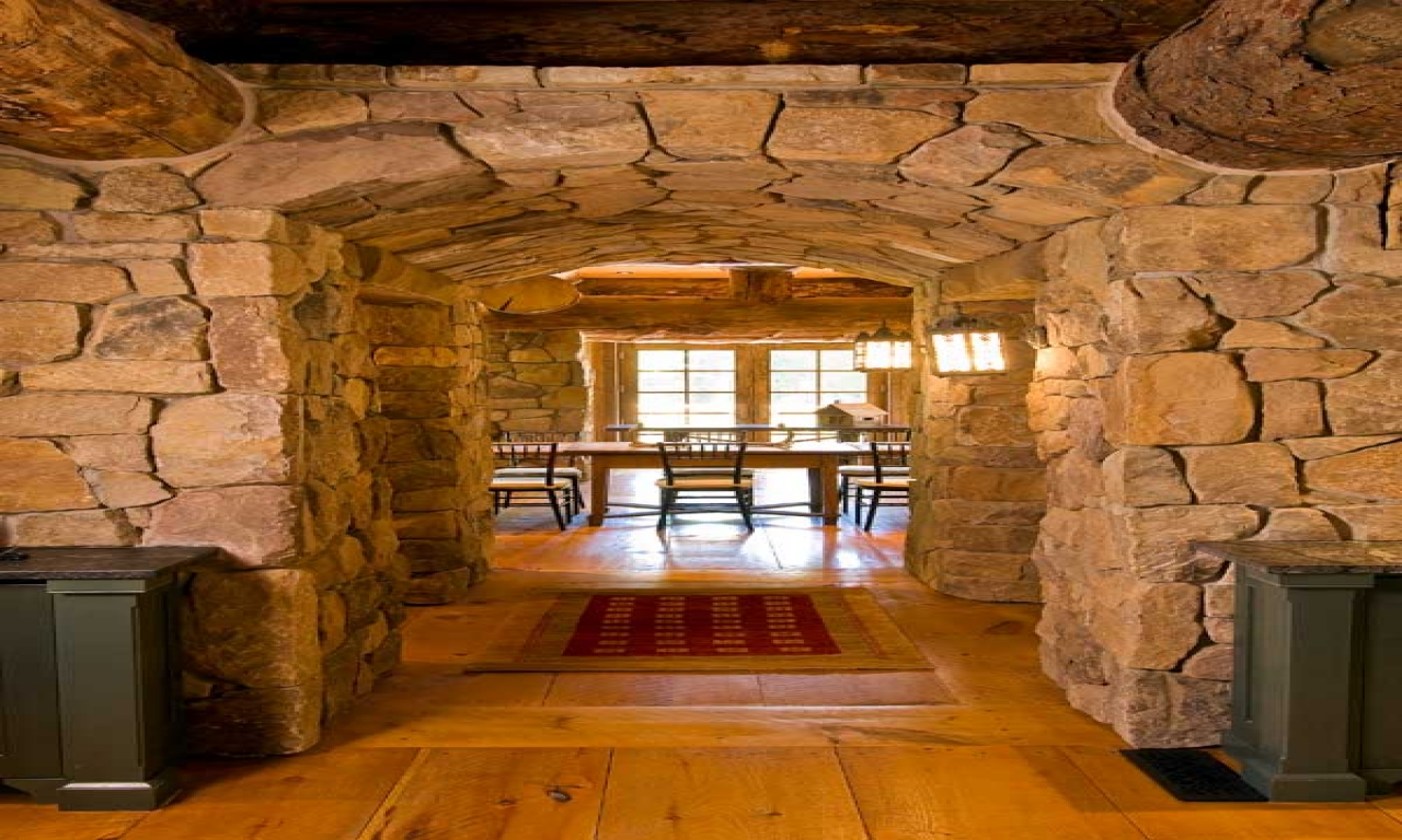 Rustic log cabin interior design interior design rustic for Decorate log cabin interior