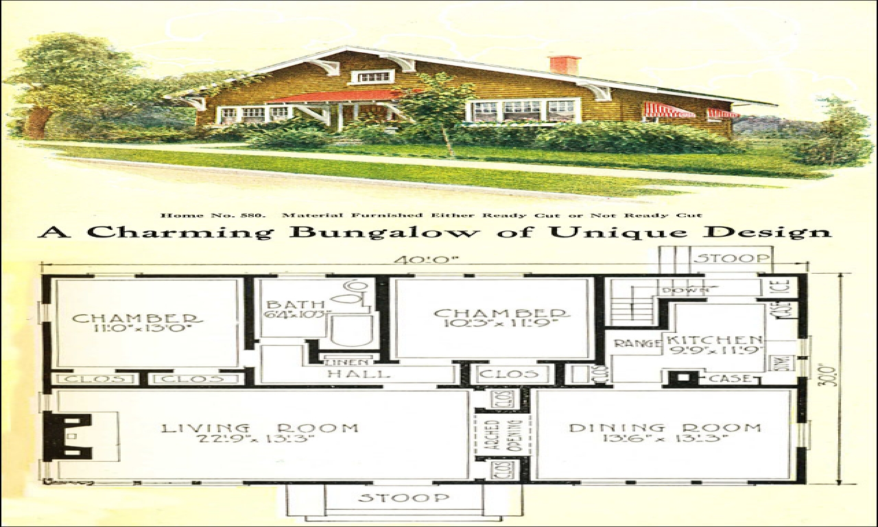 Small craftsman homes small craftsman bungalow house plans for Small craftsman house plans