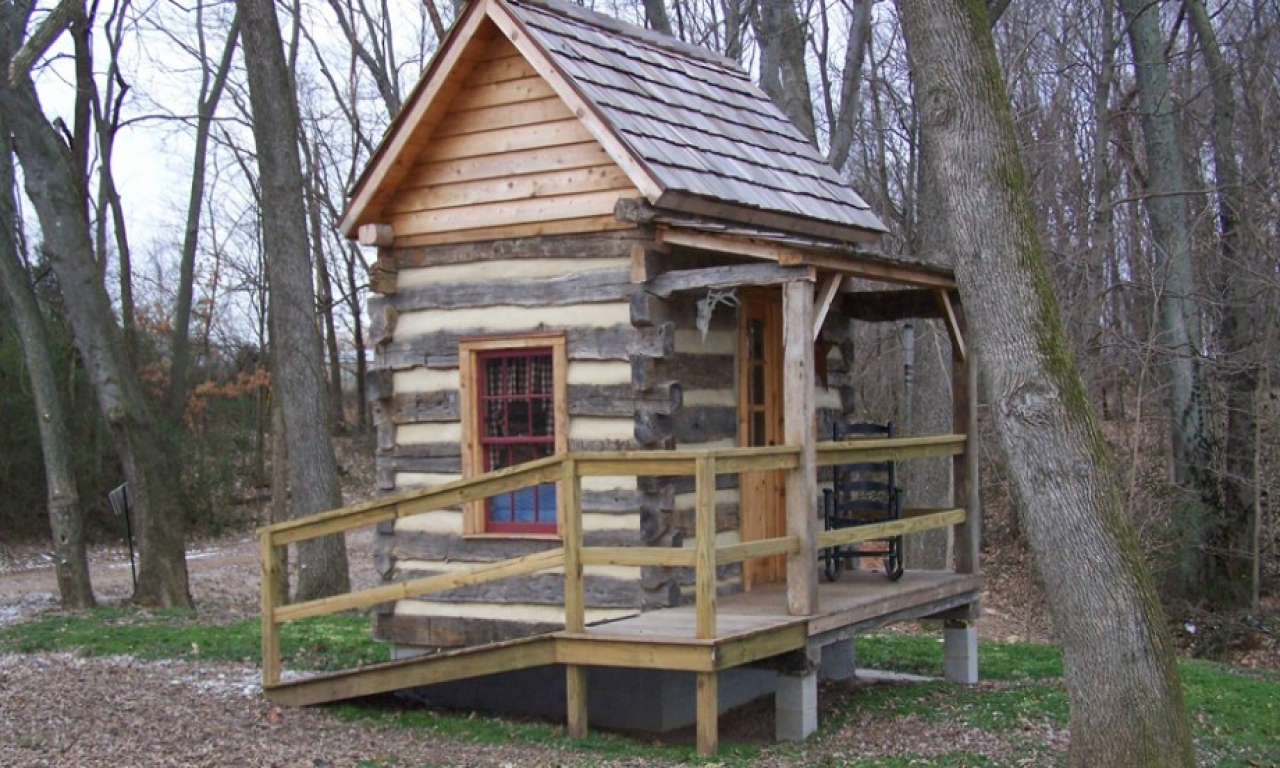 Small Log Cabin Plans Small Log Cabin Homes Very Small
