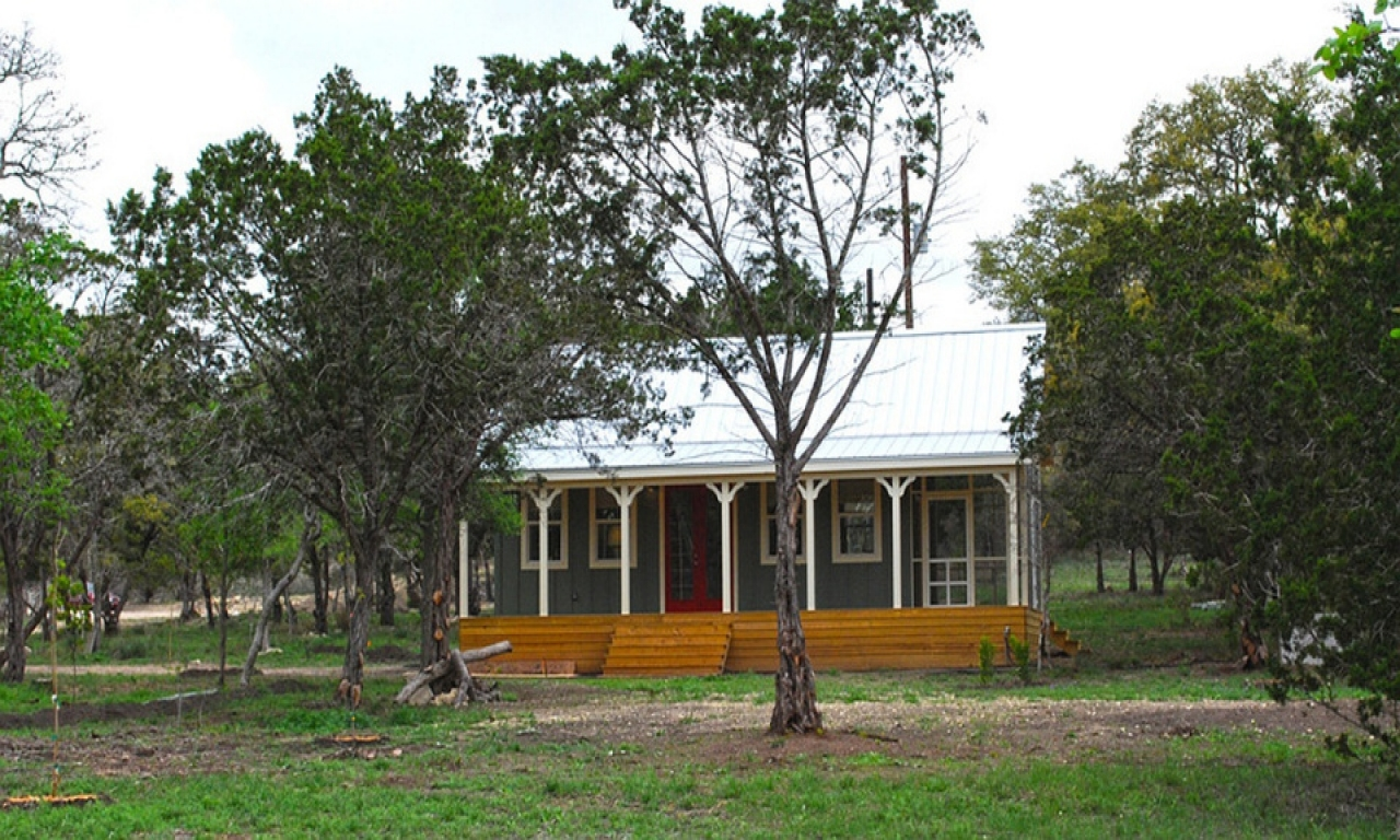 Texas Small House Plans With Porches Small Cottage House