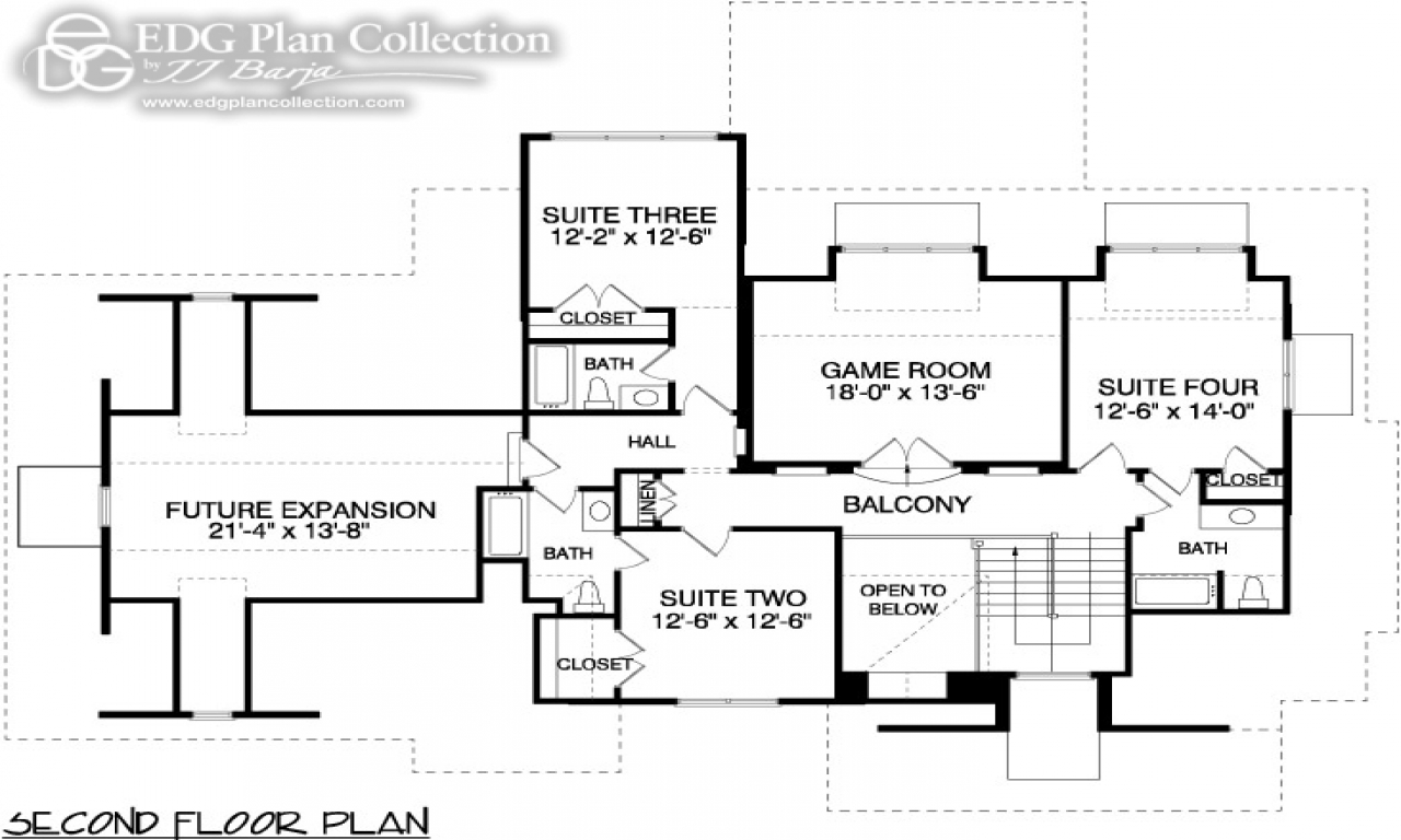 Tidewater house floor plan tidewater southern living floor for Tidewater house plans