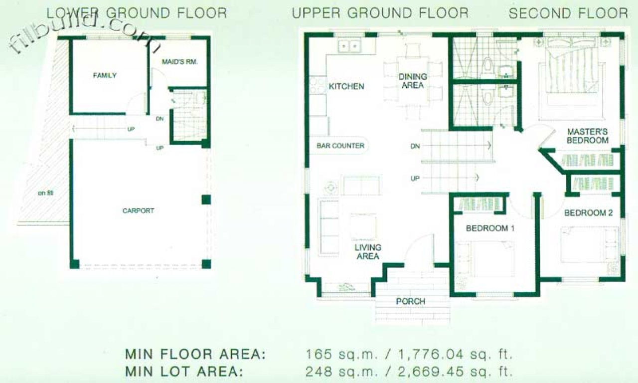 Affordable homes in the philippines philippine home floor for Affordable home floor plans