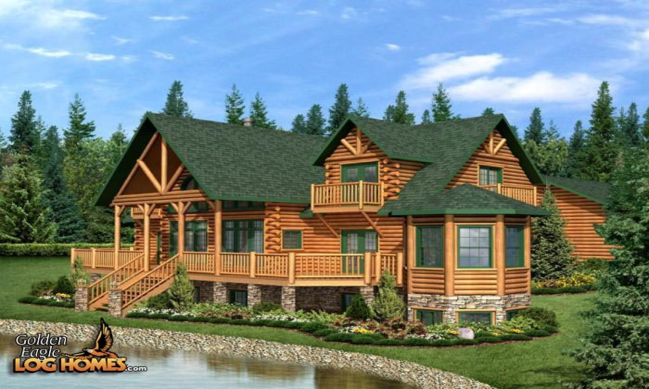 Best log cabin home plans luxury country