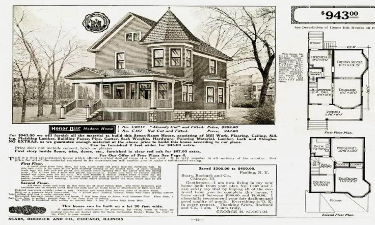 Early 1900s sears homes 1900 sears catalog homes early for Vintage house plans 1900