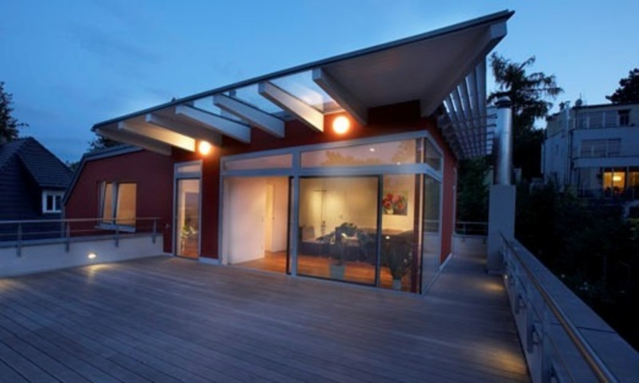 House Designs With Rooftop Terrace Rooftop House Design