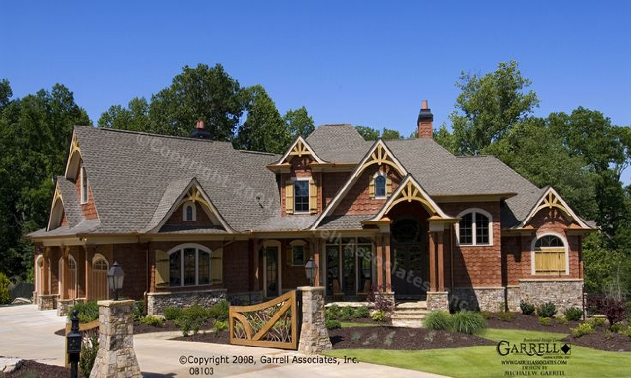 Mountain craftsman style house plans craftsman lake house - What is a craftsman house ...
