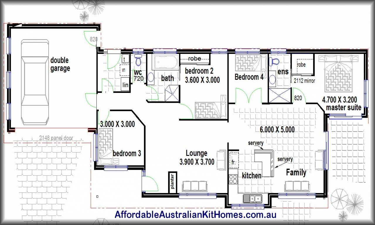 Residential house plans 4 bedrooms 4 bedroom house plans for 4 bedroom farmhouse plans