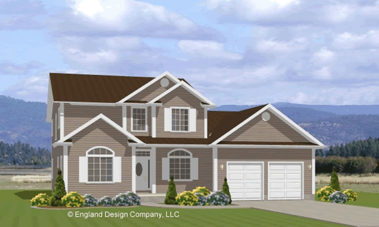 Two Story House Plan Inexpensive Two-Story House Plans ...