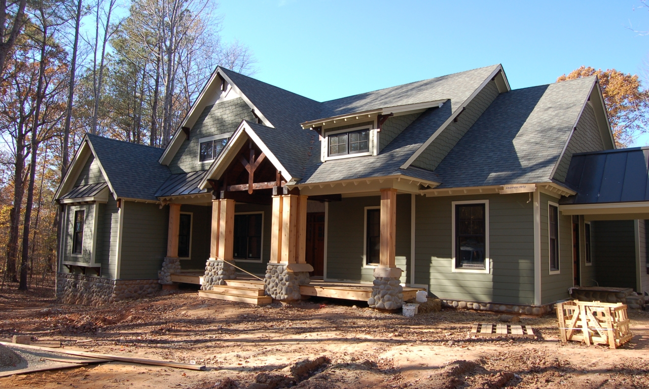 Country craftsman style homes contemporary style homes for Country craftsman