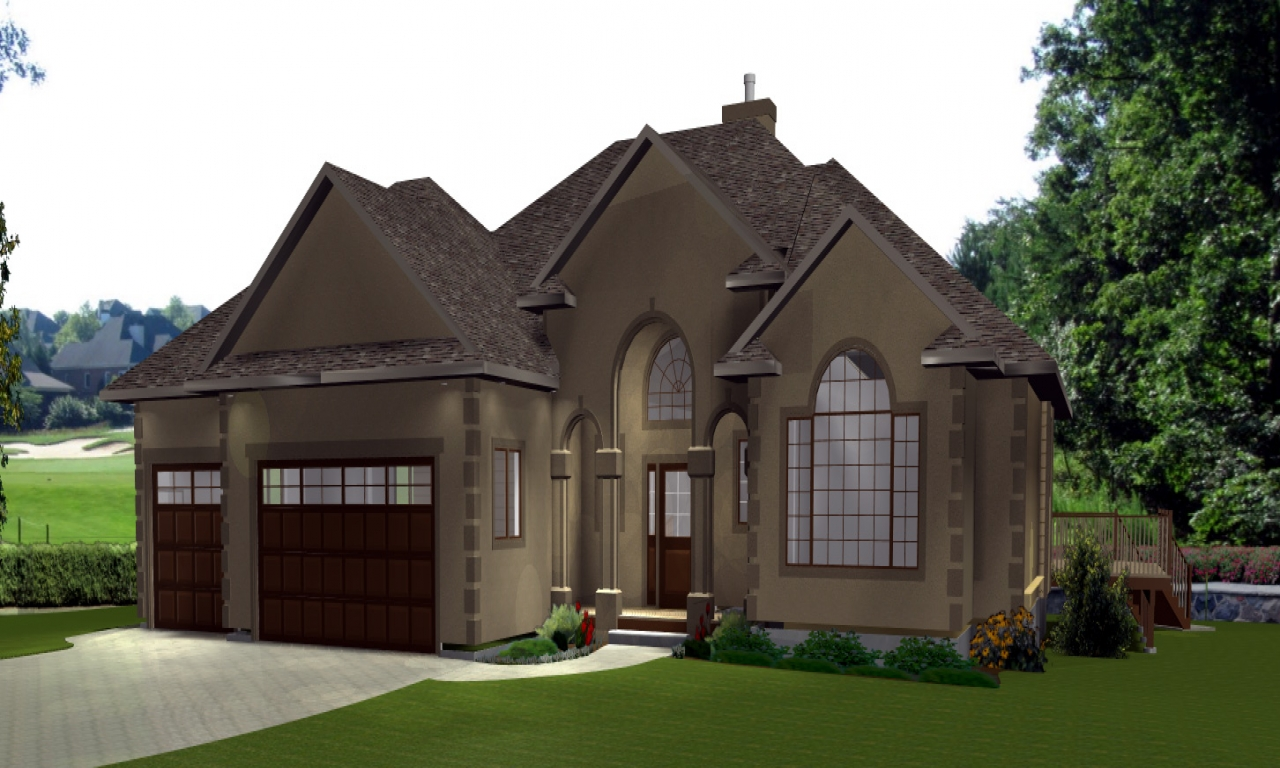 House plans lake house house plans with 3 car garage for Lake house plans with garage