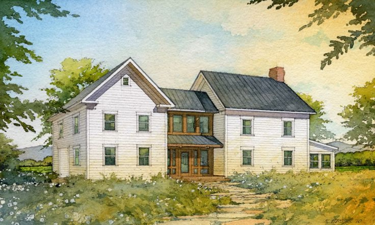 Old farmhouse floor plans farmhouse design house plans for Antique farmhouse plans