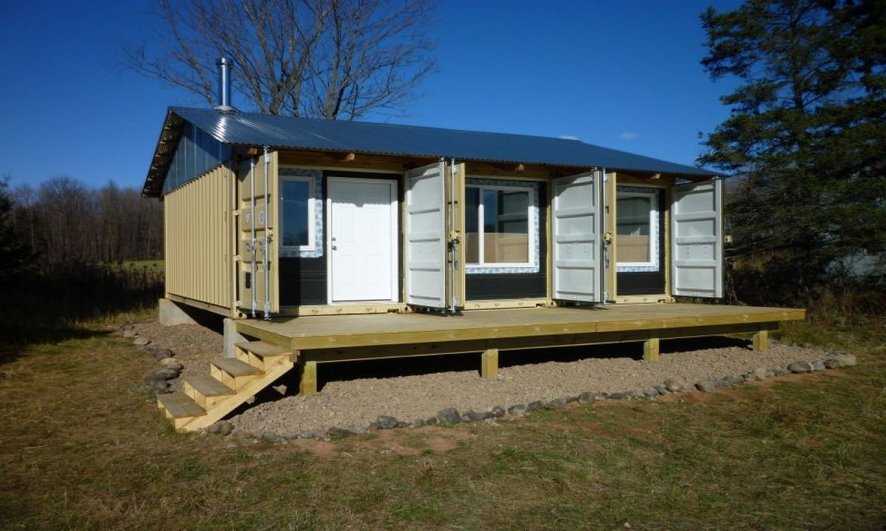 Shipping Container Homes Australia Shipping Container Home Cabin Building A Small Hunting Cabin