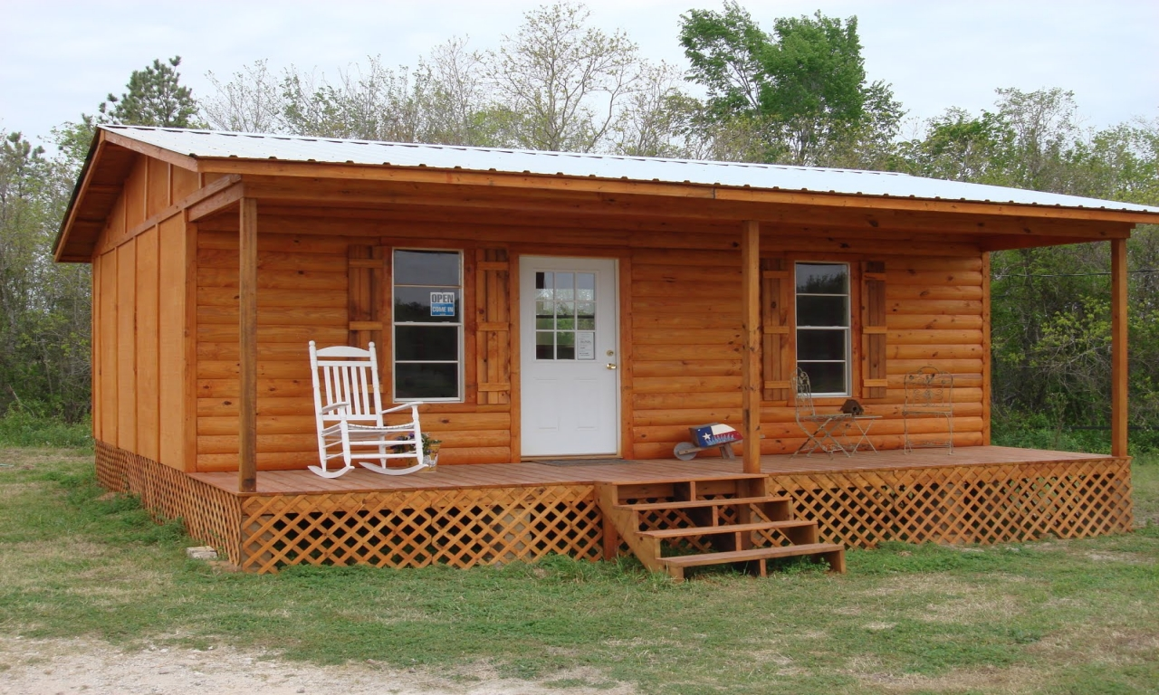 Small cabin shell kits small inexpensive log cabin kits for Micro log cabins
