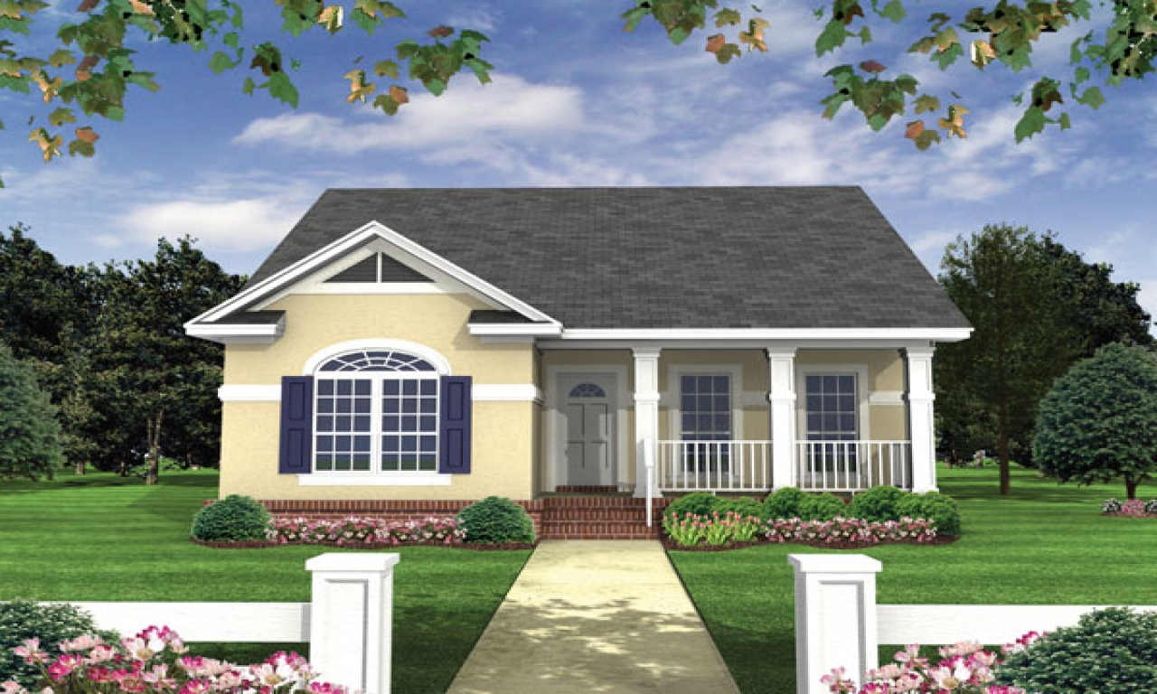 Small home plan house design small homes plans and designs for Thehousedesigners com home plans